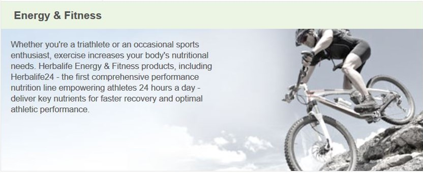Herbalife Energy & Fitness Products for Weight Loss